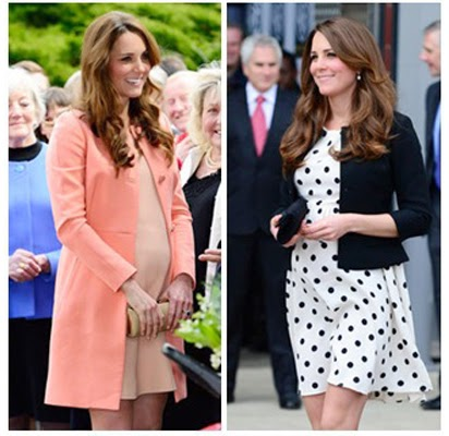 model baju hamil kate middleton