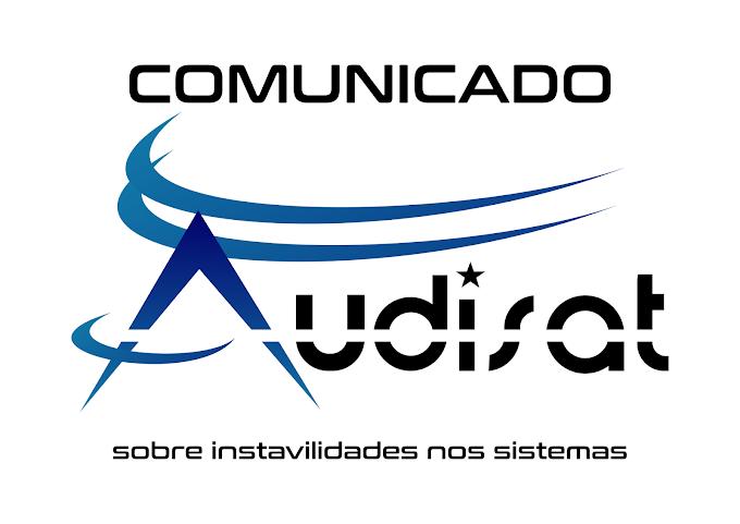 COMUNICADO AUDISAT AOS USUARIOS DA MARCA REFERENTE AOS MODELOS ANTIGOS A1/A3/A5 E A5 PLUS CONFIRAM - 30/11/2018