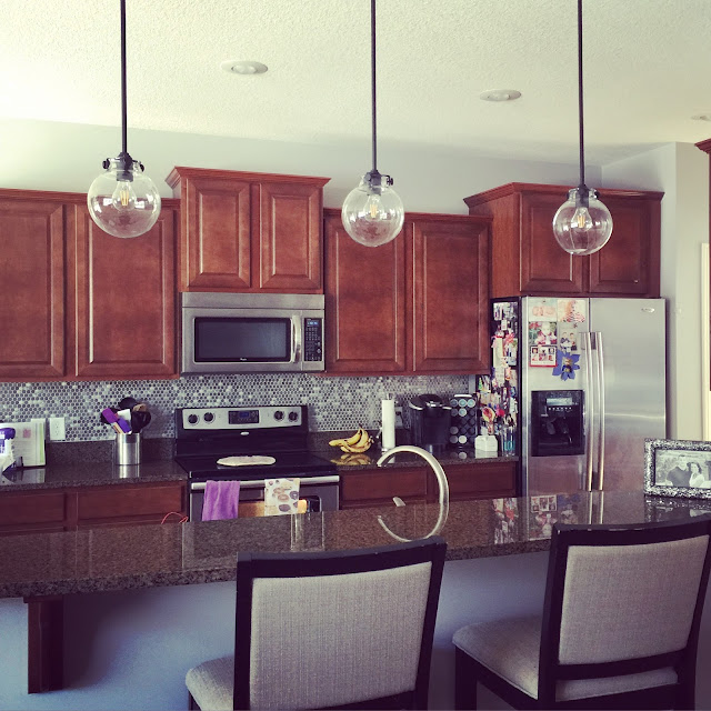 Kitchen Impossible Updates: Our Styled Suburban Life: New Kitchen Lighting