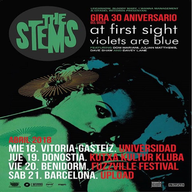 THE STEMS!!! - Gira 30 aniversario 'At first sight violets are blue' 1