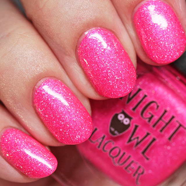 Night Owl Lacquer Pink Coconut Ice