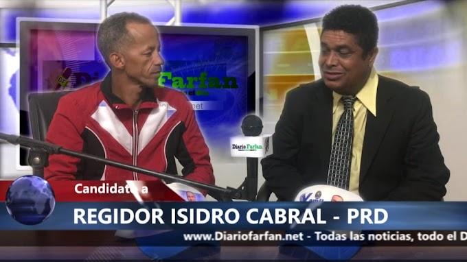 !!!!PICANTE ENTREVISTA AL CANDIDATO A REGIDOR ISIDRO CABRAL PRD, POR ESTE MUNICIPIO LAS MATAS DE FARFAN