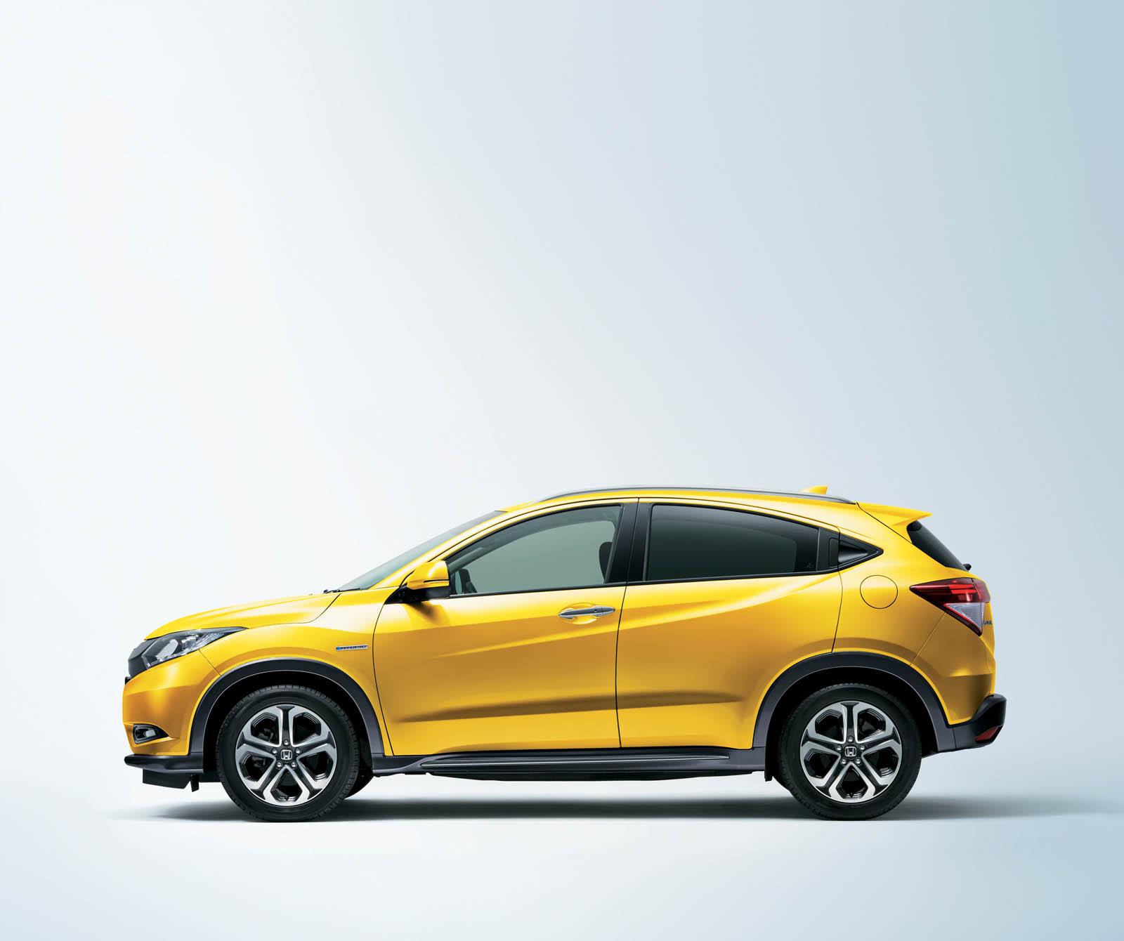 Ford Raptor Jump >> Honda Vezel Brilliant Style Edition Spruces Up Japan's