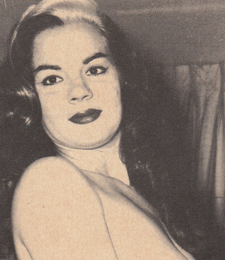 bcea5787a True burlesque true story of burlesker anita ventura true burlesque jpg  734x848 Vintage model anita ventura