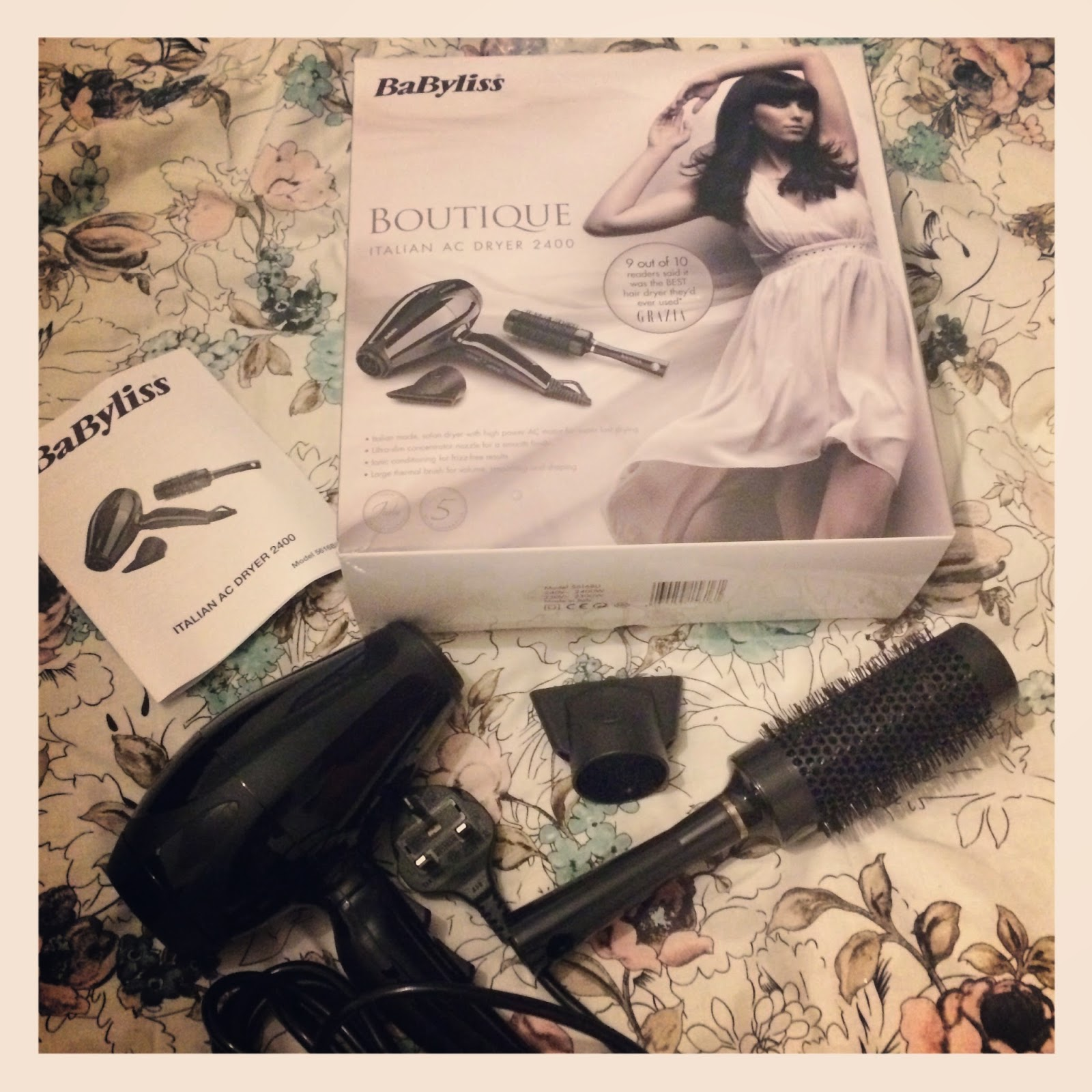 Babyliss Boutique Italian AC Dryer 2400