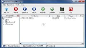 اقوي برنامج مجاني للتحميل من الانترنت Xtreme Download Manager  (شبيه Internet Download Manager )