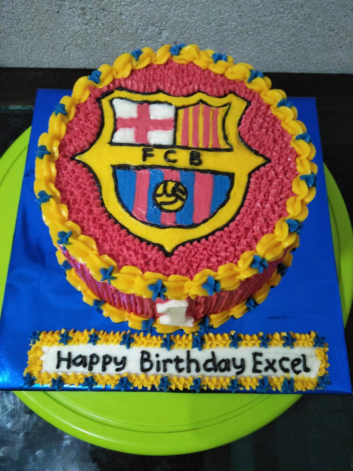 Kue Enak Jayapura Kue Ultah Fc Barcelona