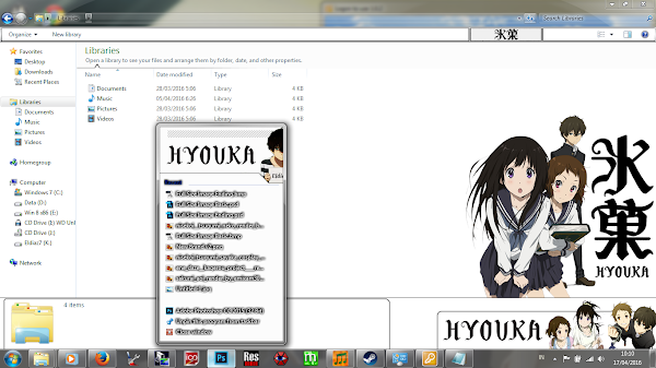 [Theme Win 7] Hyouka by Eldiaz7 4