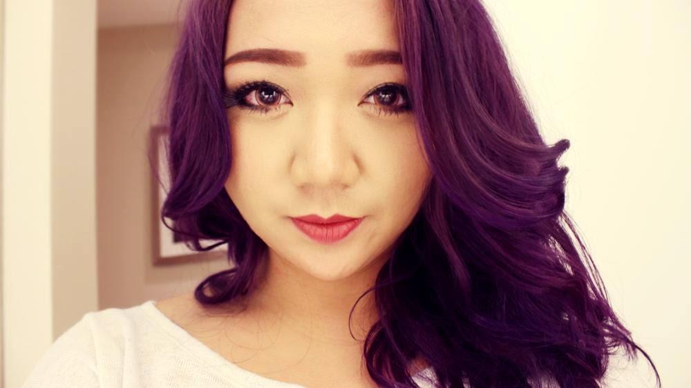 Splat hair dye purple