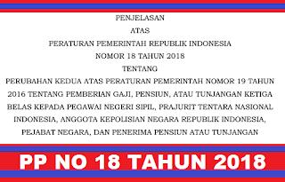 gambar peraturan pemerintah nomor 18 tahun 2018
