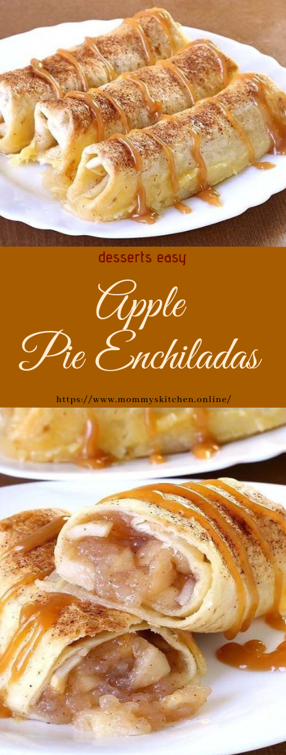 Apple Pie Enchiladas #desserts #applerecipe
