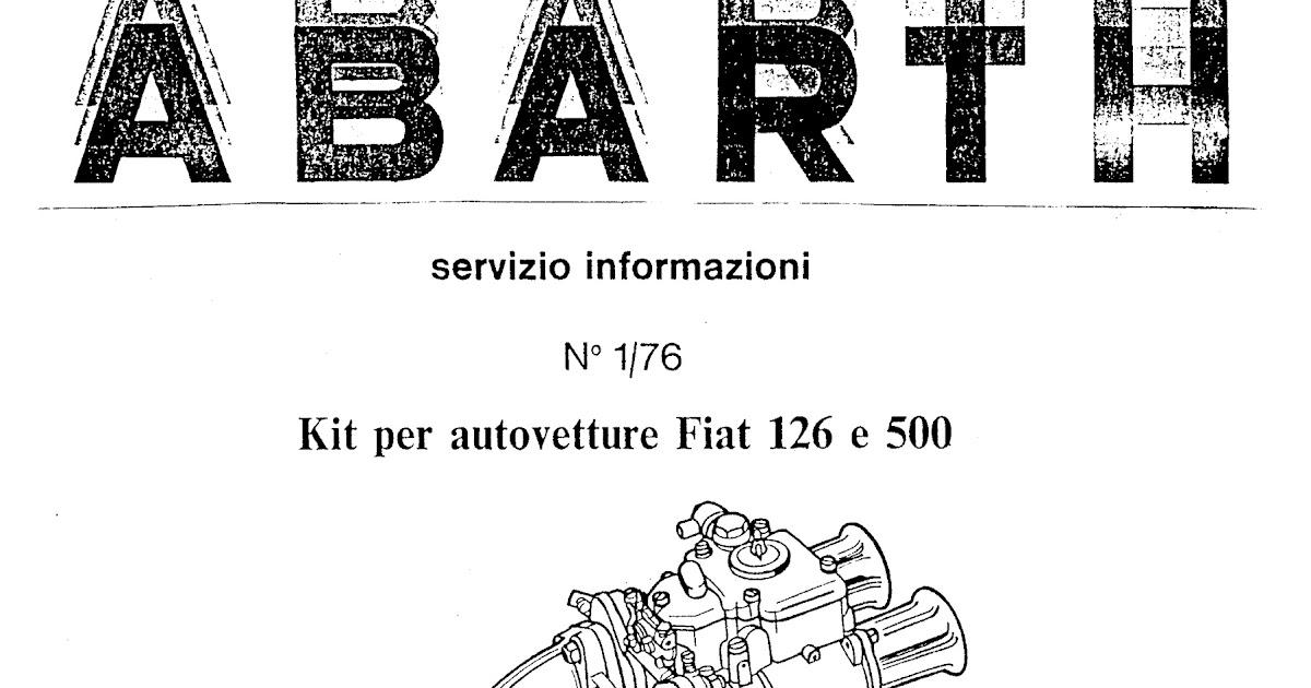 Bicilindriche _ Fiat Abarth: Kit K 12