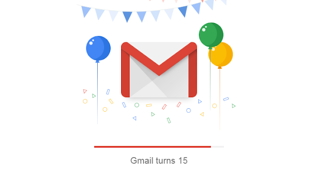 Gmail is Celebrating 15 Years Anniversary with Smart Compose AI Suggestions