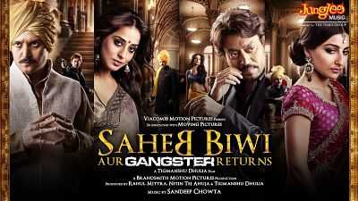 Saheb Biwi Aur Gangster Returns 2013 Hindi Full Movie Download 400MB BRRip