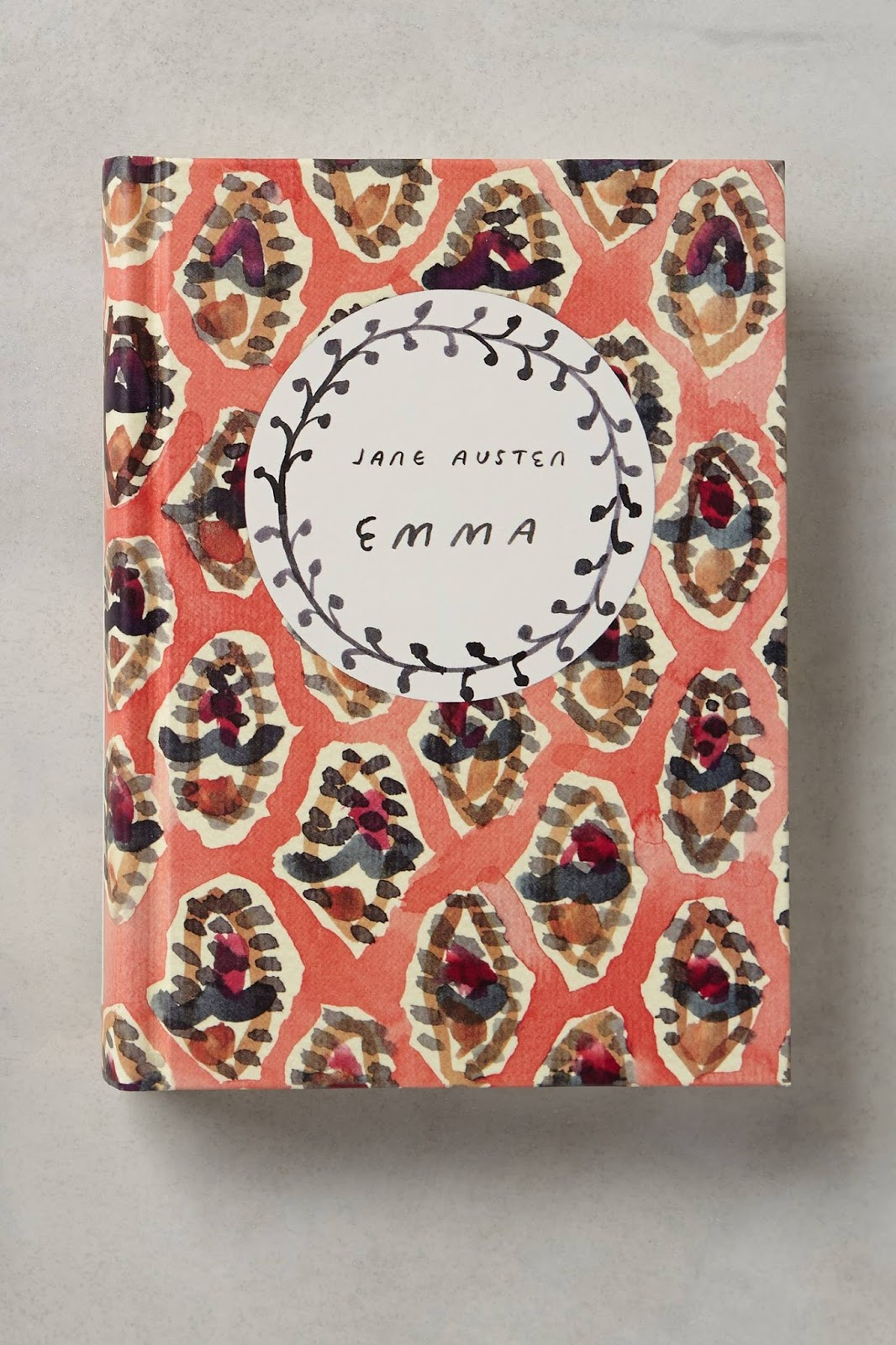 Pretty Book Cover Queen ~ Front cover of emma