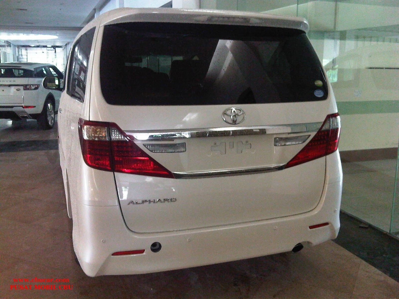 All New Alphard Facelift Kunci Grand Avanza Toyota 2014 Mobil Baru Cbu