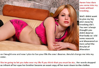 female possession body swap caption