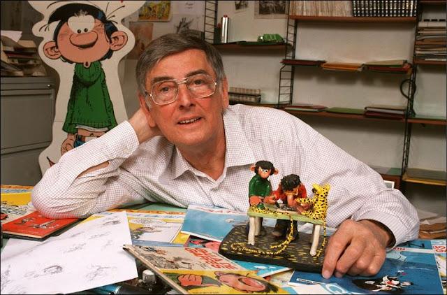 André Franquin, créateur de Gaston Lagaffe