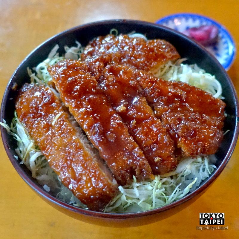 【市松】淋上醬汁的超厚實豬排飯 品嘗會津在地美食