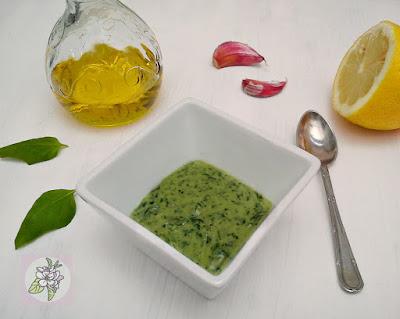Pesto Verde Vegano a la Albahaca