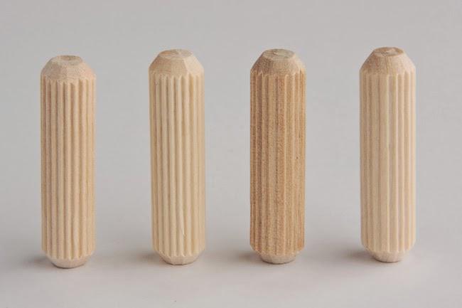 Chốt gỗ nhiều kích thước, mẫu đa dạng