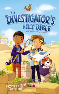 NIV The Investigator's Holy Bible cover