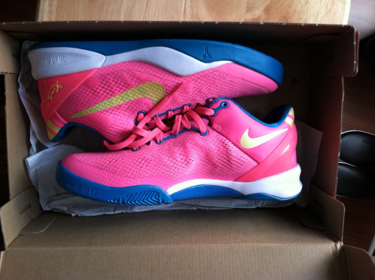 9a6a0de6216c I definitely got my hands on a steal today and I might have to go back soon  and get the all blue Kobe 8 s also.