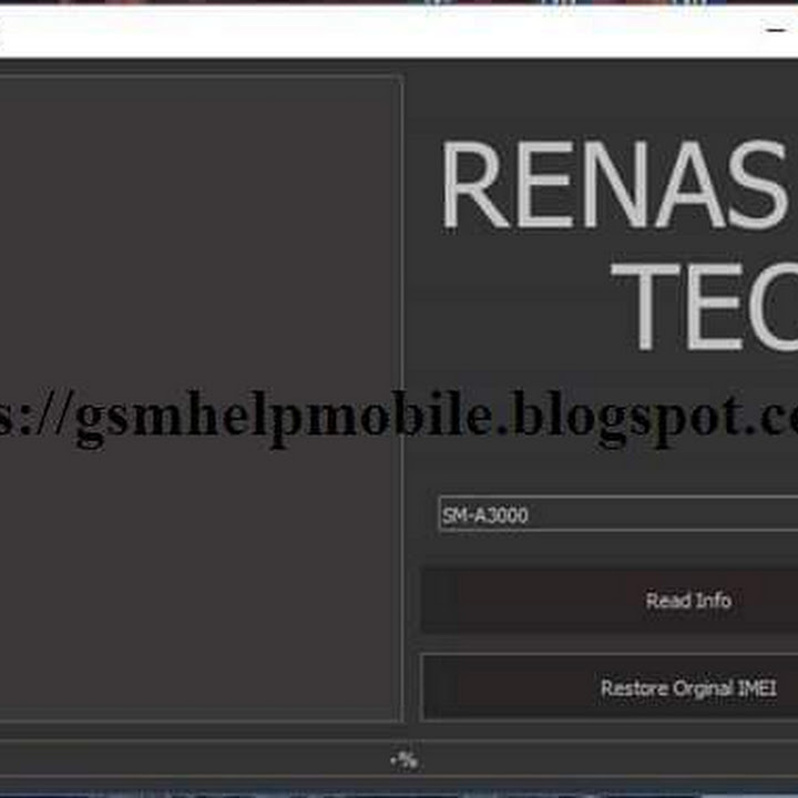 RenTool v1 0 Full Restore Samsung IMEI\CERT All Qualcomm