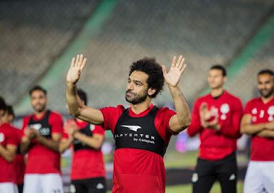 Mohamed Salah Menyaksikan Sesi Latihan Timnas Mesi Menjelang Kepulihannya - Judisessions