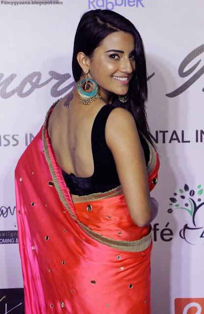 jyoti sethi hot black blouse still