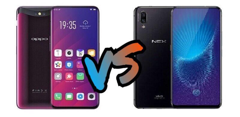 OPPO Find X versus Vivo NEX S