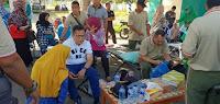 Peduli Lombok, Pj Walikota dan Dandim 1608 Gelar Aksi Donor Darah