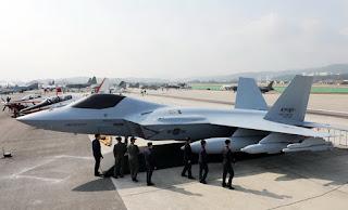 Mock up Pesawat Tempur KFX/IFX