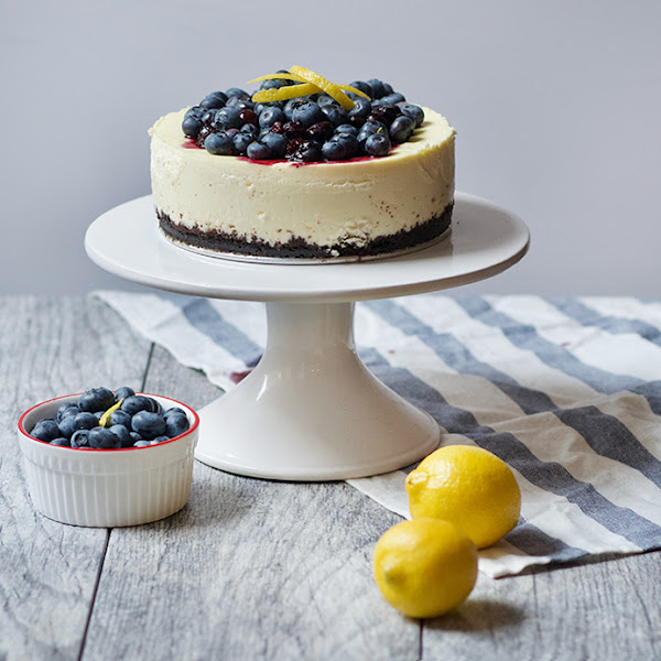 Lemon Blueberry Cheesecake // Surgery Fellowship