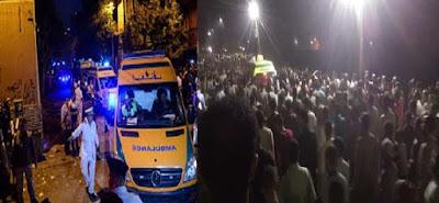 وفاة شخص وإصابة 20 آخرون منذ قليل في حادث سير بالإسكندرية.. وبيان أمني بالتفاصيل