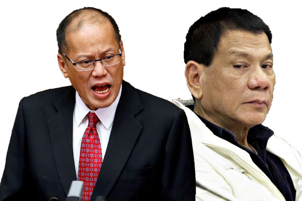 PNoy slams Duterte: Lider ka, tumakbo ka na may pangako