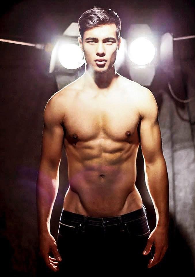 devon spence shirtless