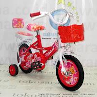 Sepeda Anak Erminio 12-2202 Peri 12 Inci