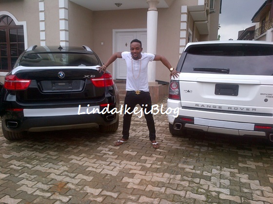IMG 20130710 00300 1 resized Oya Limpopo! KCee Splash The Cash… Acquires Brand New 2013 Range Rover & BMW X6 (See Photos)