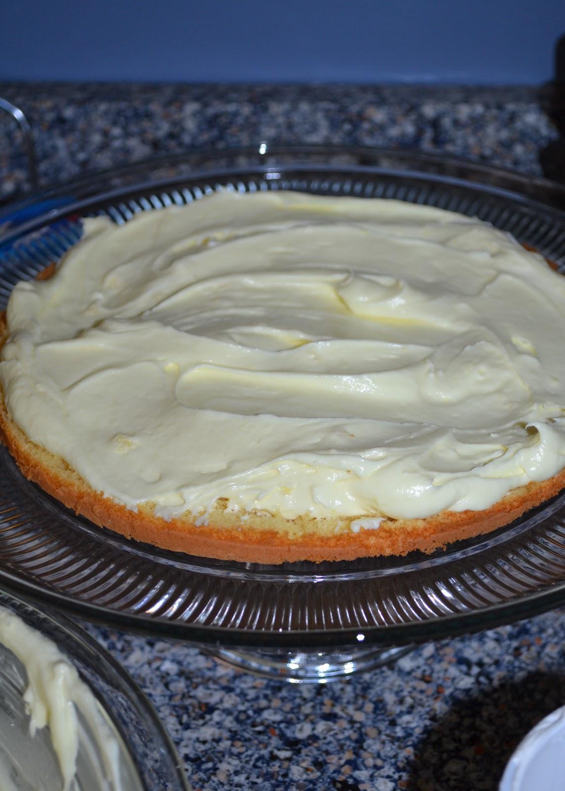The Domestic Doozie Strawberry Lemonade Cake