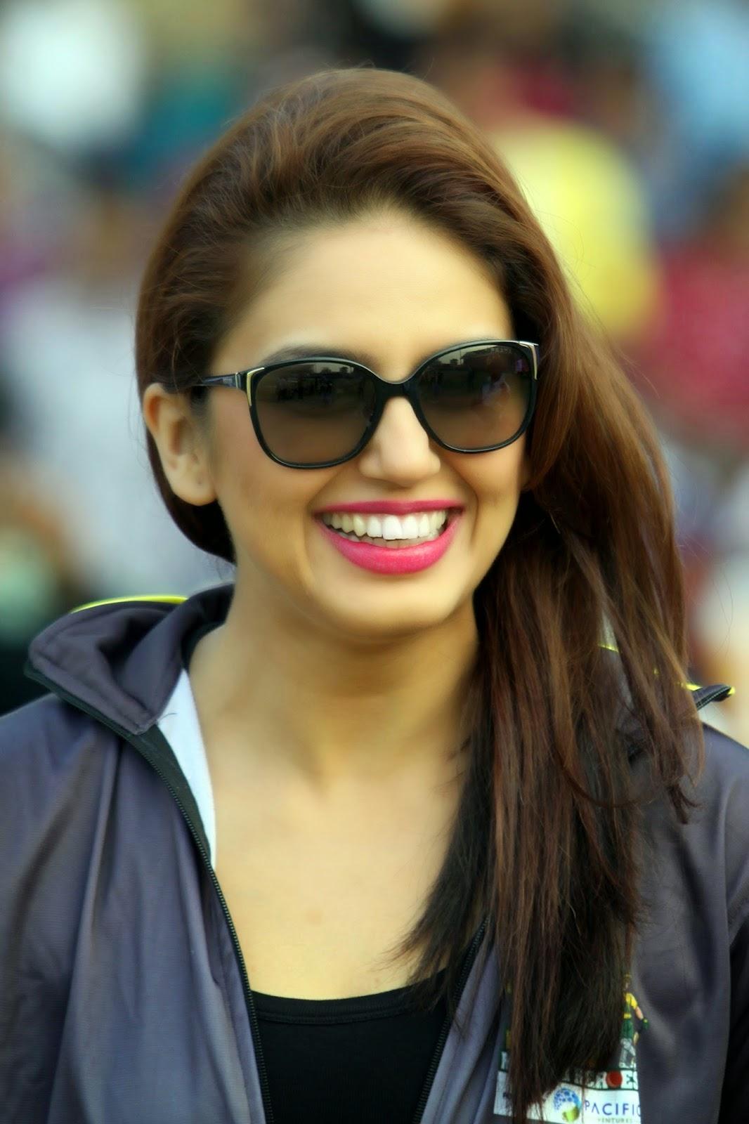 Hot Huma Qureshi At Ccl Cricket  Cute Marathi Actresses -3602