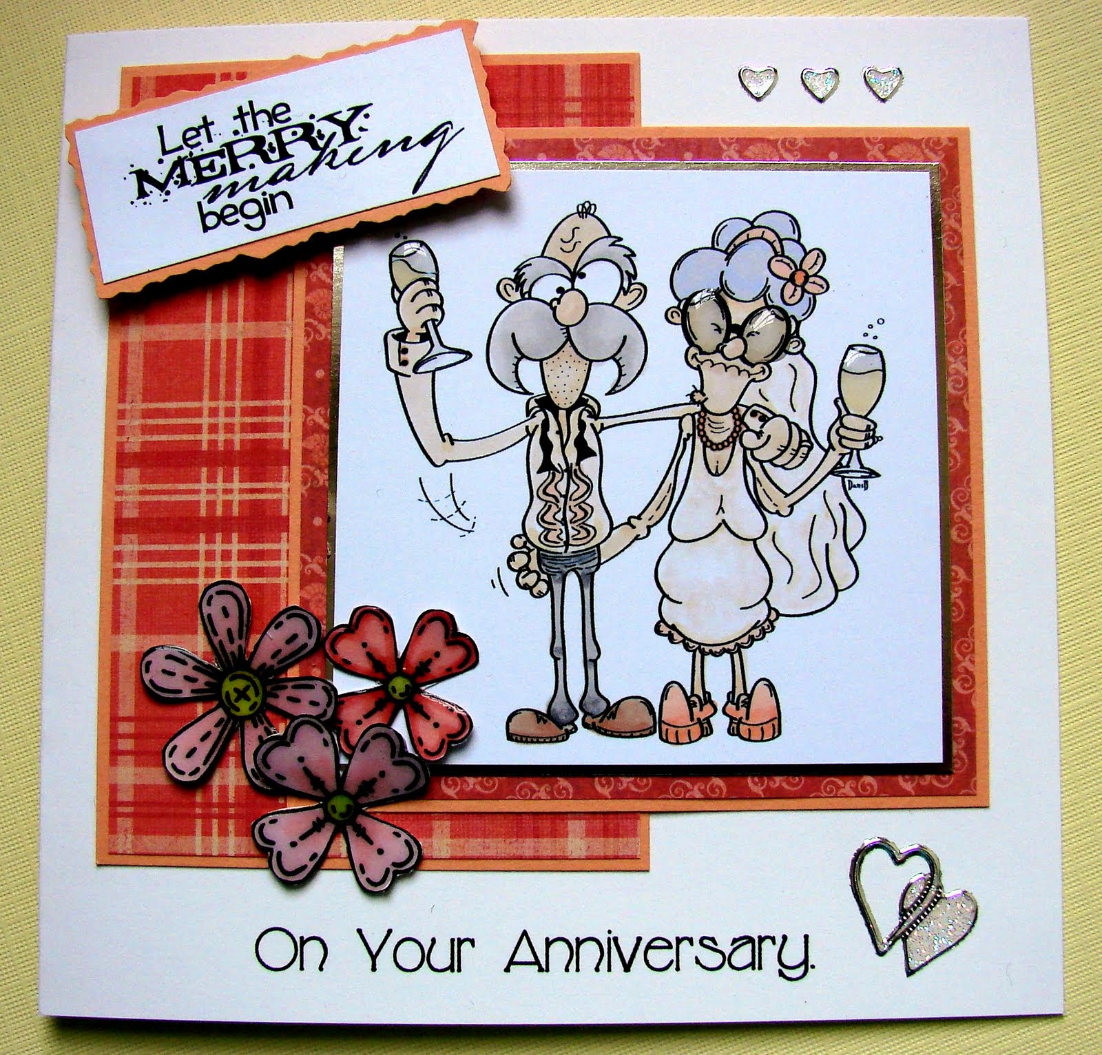 Make Anniversary Card Online Free And Print