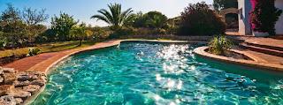 An image of a beautiful swimming pool