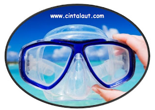 tips merawat masker dive kacamata selam