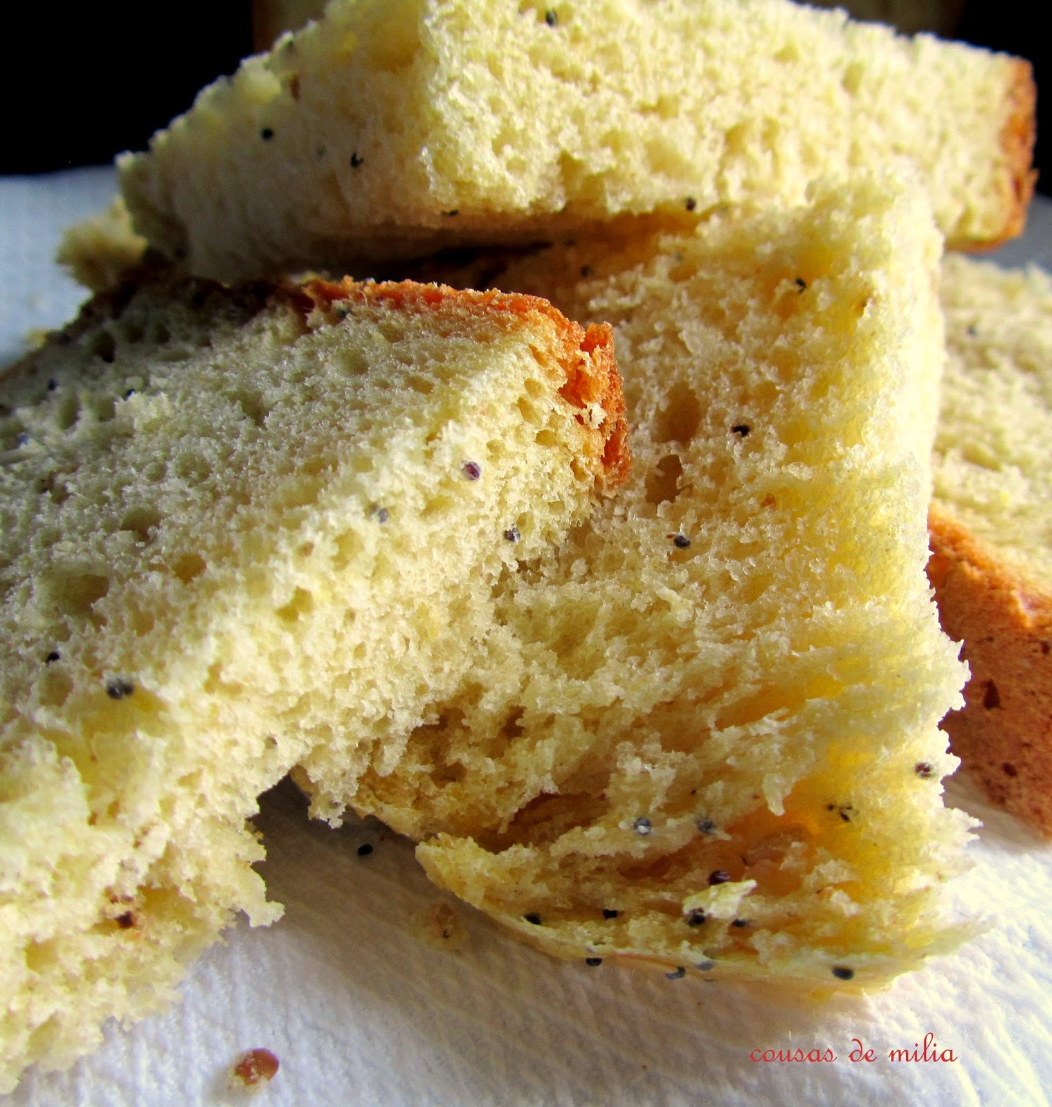 Pan de calabaza con especies y semillas