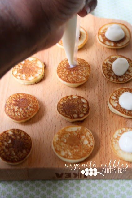 Start your Independence Day morning with these gluten free American style pancakes!