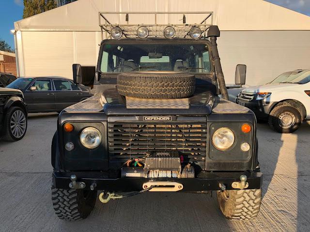 Land rover DEFENDER KEYRING CAR TD5 110 88