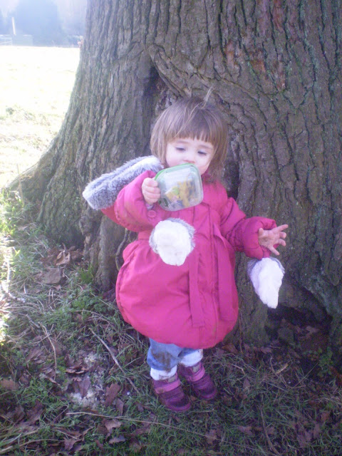 Eldest with a geocache