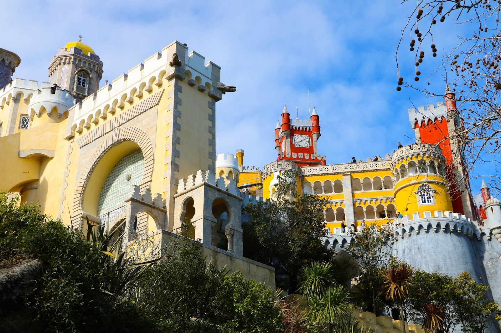 Gorgeous Palacio de Pena in Portugal Sintra