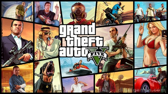 Grand Theft Auto V / GTA 5 – V1.0.1180.1/V1.41 (Lolly Repack)